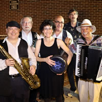 The OKB always draws a large crowd of fans at the Carousel of Music concerts in the Ocean County Library courtyard.