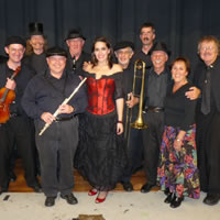 The Band was honored to perform with Gypsy Fest at the Axelrod Performing Arts Center, Long Branch